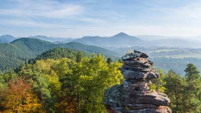 Palatinate hiking menu – day and half day hikes