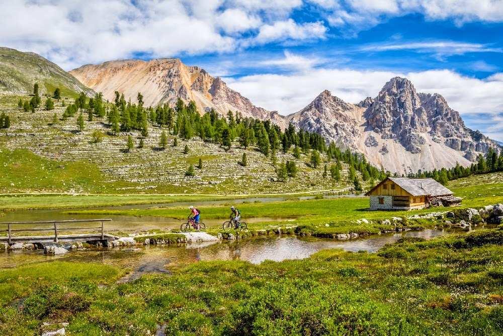 Biking South Tyrol in springtime