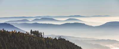 Autumnal hikes with a view in the northern Black Forest