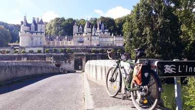 Along the Loire River by bike