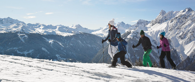 Snowshoe and winter hikes in the Montafon