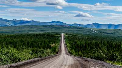 Der Dempster Highway in Kanada – make gravel great again