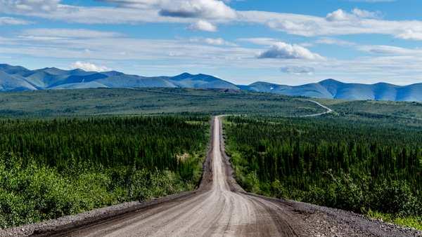 Der Dempster Highway in Kanada – make gravel great again