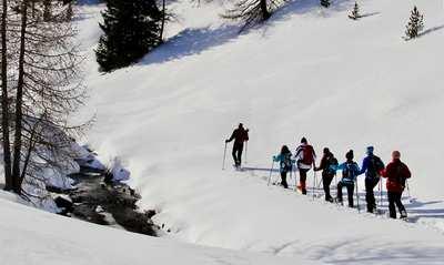 Schneeschuhzauber in Osttirol