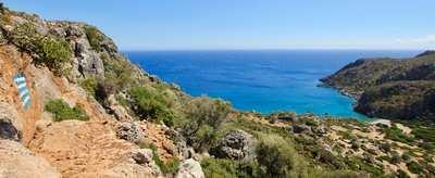 Einsame Strände & tiefe Schluchten – wandern im Süden Kretas