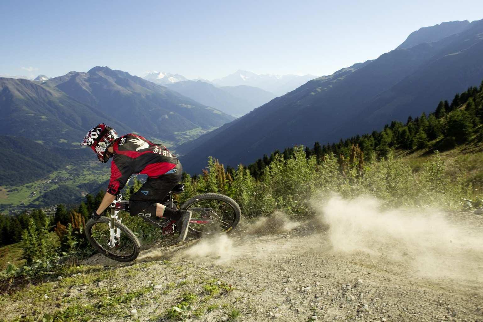 Bikeparks in der Schweiz
