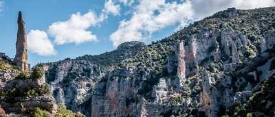Sierra de Guara – Steile Felsen und grüne Berge