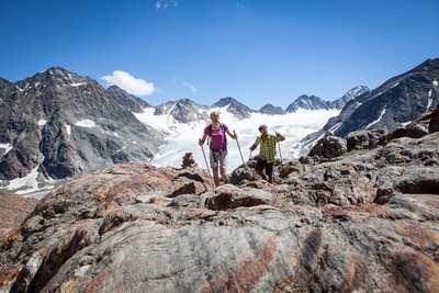 Eintauchen ins Berg-Abenteuer im Pitztal