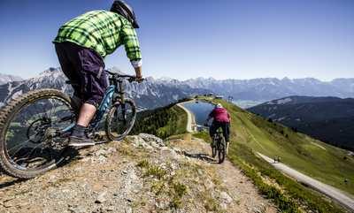 Bikeparks in den Alpen