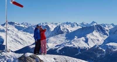 Eintauchen ins Winterwunderland: Lenzerheide