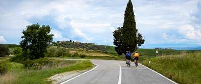 Eine himmlische Radwoche in der Toskana
