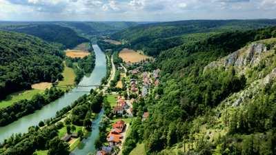 Der Altmühltal-Radweg – traumhafte Natur & märchenhafte Burgen