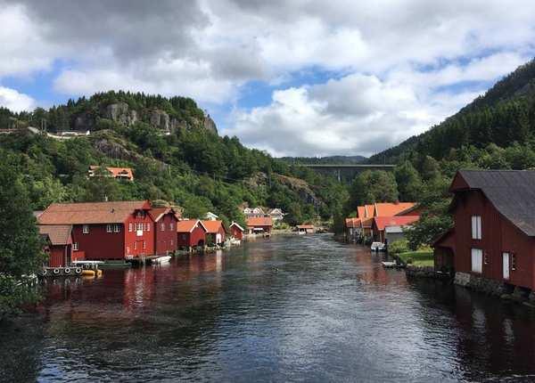 Der Nordseeküsten-Radweg Teil 1 – Norwegen