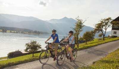 E-Biken um den Wolfgangsee