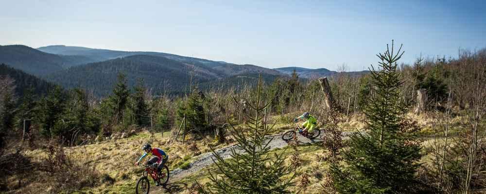 Rothaarsteig Karte.3 Tage Trail Action Auf Dem Rothaarsteig Mountainbike Collection