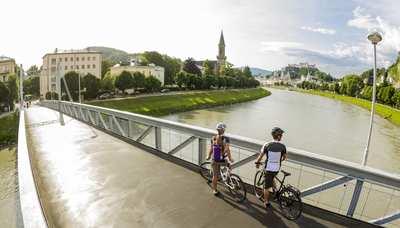 Mit dem Rad in die Mozartstadt – Touren im Salzburger Umland
