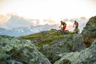 Grenzenloses Bike-Erlebnis in Ischgl
