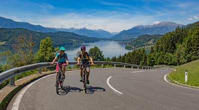 Genussradeln und E-Biken an 5 Seen in Kärnten