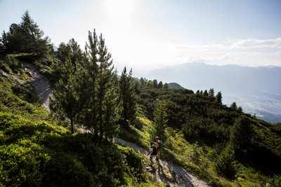 Wandern in der Tiroler Ferienregion Hall-Wattens