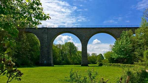 Der Vennbahn Radweg: 125 km Europa