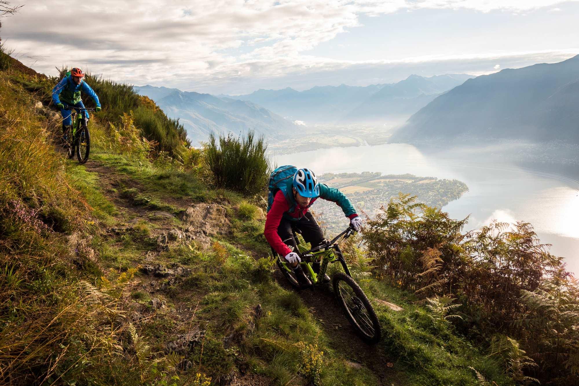 Trails und das süße Leben in Ascona-Locarno