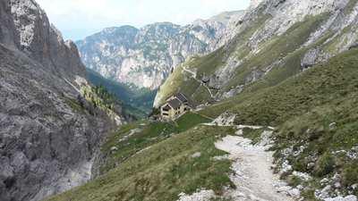Bergtouren in den Dolomiten