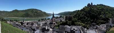 Cycling at the Romantic Rhine