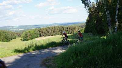 Mountainbike-Touren rund um Schwandorf