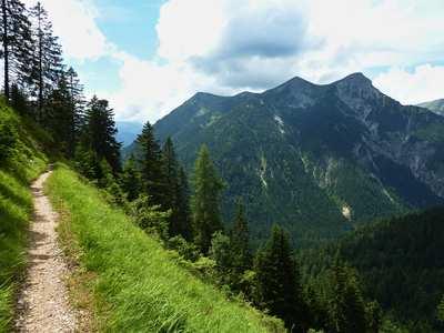 Mountainbike-Touren in den Ammergauer Alpen