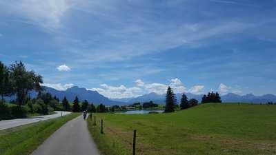 Radtouren in den Ammergauer Alpen