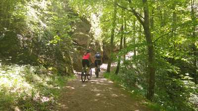 Mountainbike-Touren in Ebermannstadt