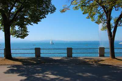 Cycling around Lake Constance