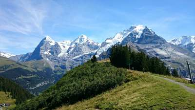 Hiking in the Bernese Oberland