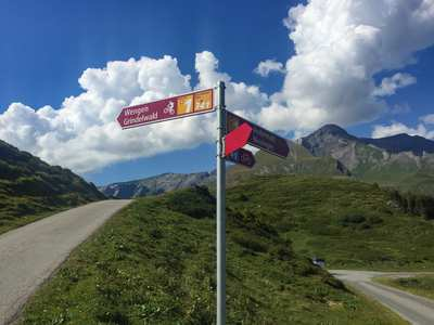 Cycling in the Bernese Oberland