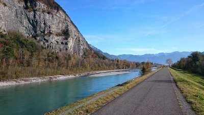 Cycling around St. Gallen