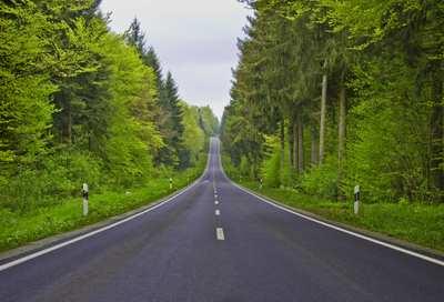 Rennradtouren in Deutschland