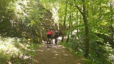 Mountainbike-Touren rund um Wiesenttal
