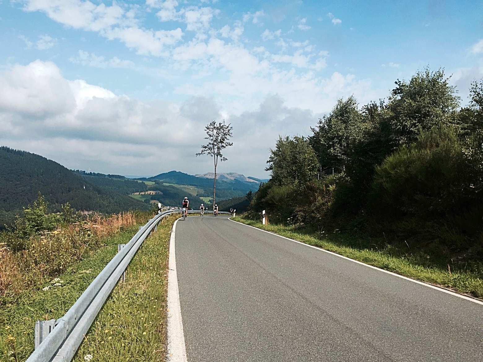 Rennradtouren in Nordrhein-Westfalen