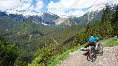 Mountainbike-Touren in Ehrwald