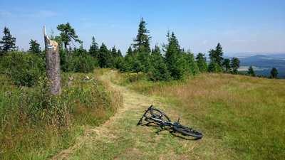 Mountainbike-Touren im Erzgebirge