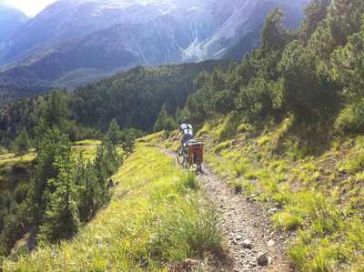 Mountainbike-Touren in den Lechtaler Alpen