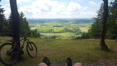 Mountainbike-Touren im Frankenwald
