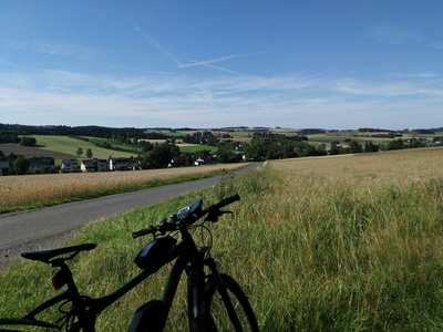 Radtouren im Frankenwald