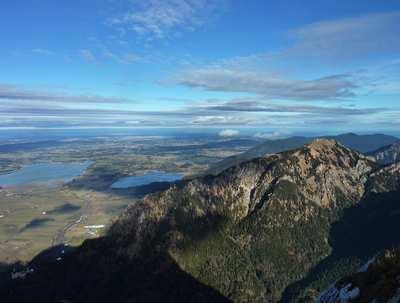 Bergtouren im Naturparkregion Reutte
