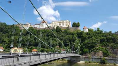 Cycling around Passau