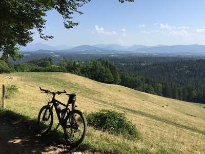 Mountainbike-Touren rund um Tegernsee - Schliersee