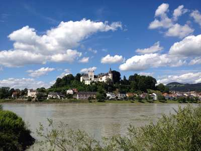 Cycling around Linz