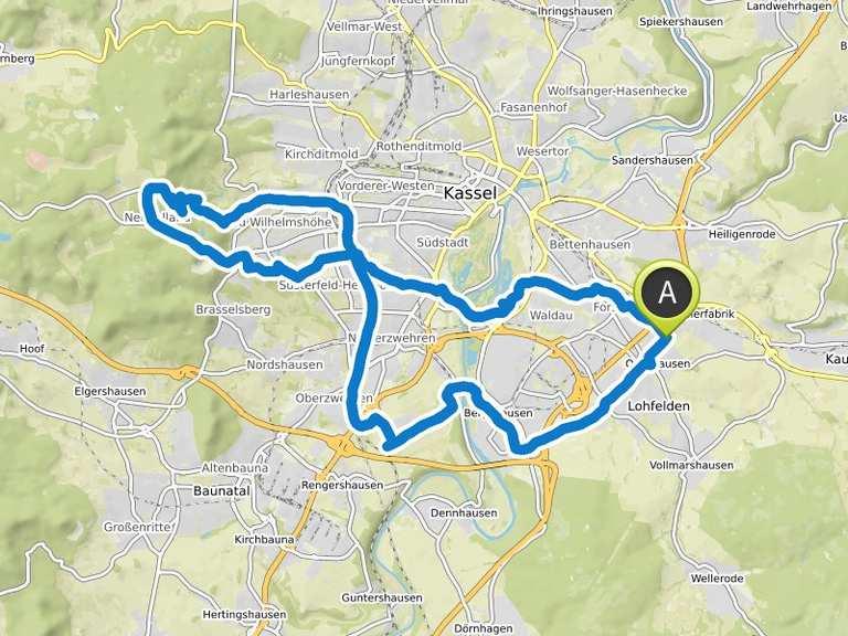 Fahrradtour Kassel